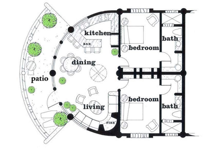 Bahia Floor Plan