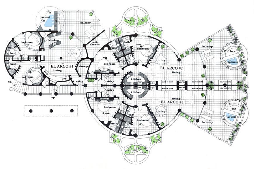 El Arco Floorplan