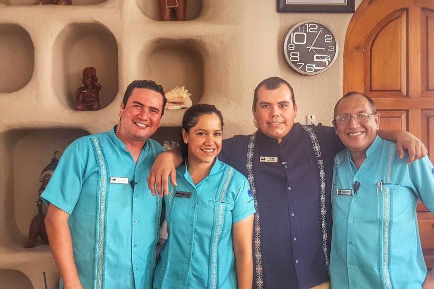 Club Cascadas Staff