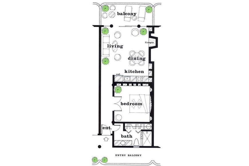 Las Palmas Floor Plan
