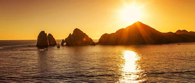 photo of sunset cruise