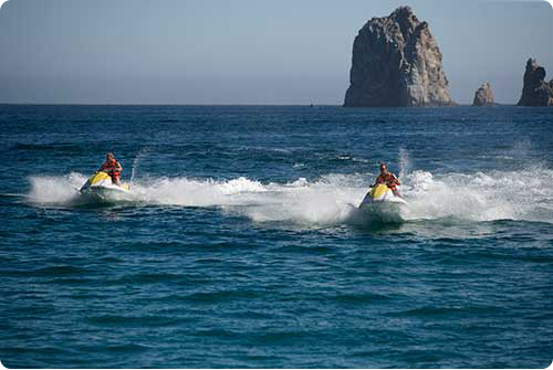 Wave Runner in Cabo