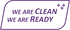 We are clean, we are ready